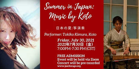 Summer in Japan: Music by Koto tickets
