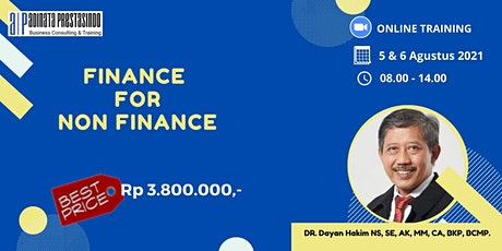 Finance for Non Finance tickets