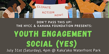 Youth Engagement Social tickets