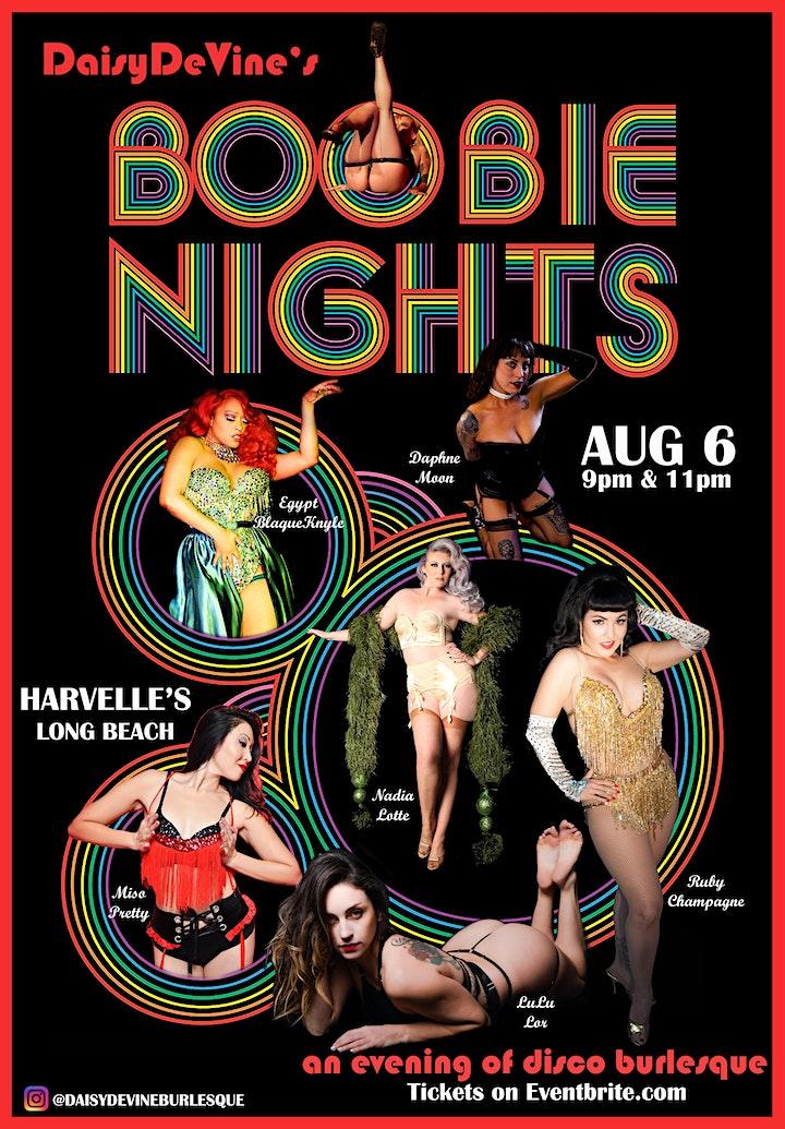 Boobie Nights ~ An Evening of Disco Burlesque image