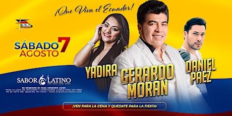 Gerardo Morán, Yadira & Daniel Páez tickets