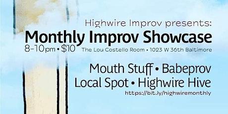 Highwire Improv  Night tickets