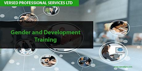 Gender and Development Training tickets