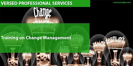 Training on Change Management tickets