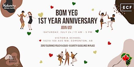 Black-Owned Market Edmonton (BOM YEG) - 1st Year Anniversary! tickets