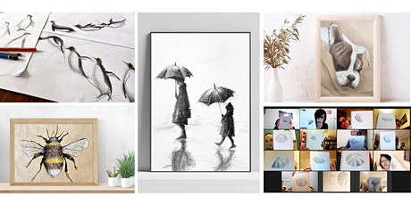 Sketch Club at Home - Mindful Drawing Series tickets