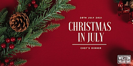 Chefs Table - Christmas in July tickets