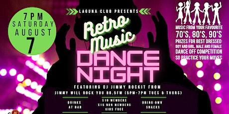 Retro Music Dance Night tickets