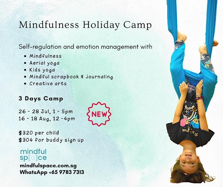 Mindfulness Holiday Camp image