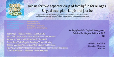 Good Vibes Festival of Wellness - A Family Fun Fest tickets