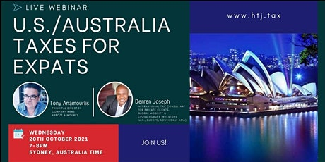 (WEBINAR) U.S./AUSTRALIA TAXES FOR EXPATS. tickets