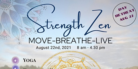 StrengthZen - Yoga and Meditation Day Retreat tickets