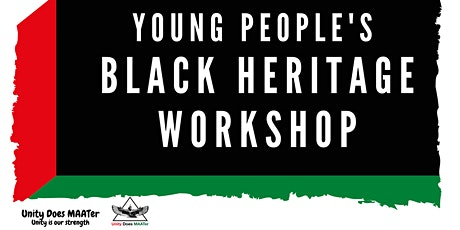 UDM Summer Events - Young People's Black History Workshop tickets