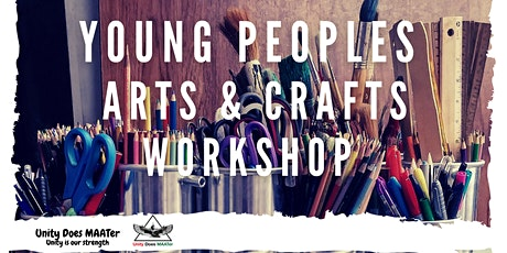 UDM Summer Events -  Young People's Art's & Crafts  Workshop tickets