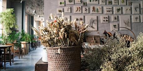 """3. Workshop """" Trockenblumen Trend- Kranz oder Ring floristisch dekorieren"""" Tickets"""