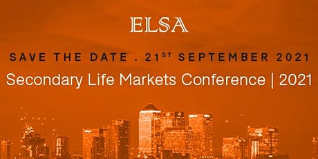 Secondary Life Markets Conference | 2021 tickets