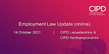 Employment Law Update (online) tickets