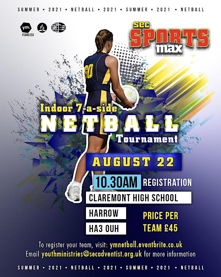Netball 7 a side Tournament image