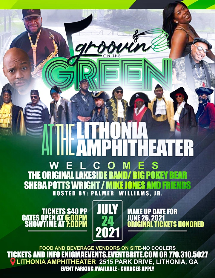 Groovin' on the Green @ Lithonia Amphitheater image