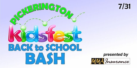 Pickerington Back to School Bash by MMA Insurance-Event Registration:11-2PM tickets