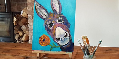 'Dinky Donkey' Painting  workshop & Christmas afternoon Tea @Sunnybanks tickets