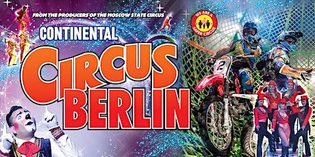 Circus Berlin - Folkestone billets