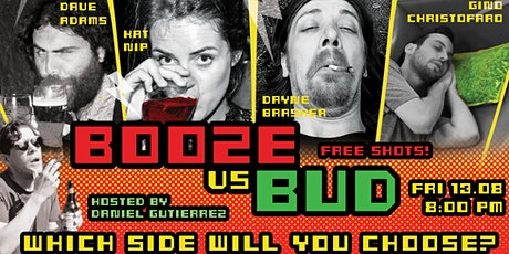 Booze vs Bud - English Comedy Night #3 tickets