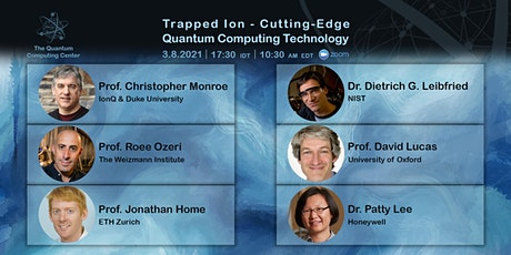 Trapped Ion - Cutting-Edge Quantum Computing Technology tickets