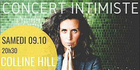 Colline Hill| Concert intimiste billets