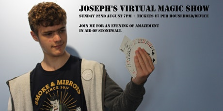 Joseph's Magic Show In Aid Of Stonewall tickets