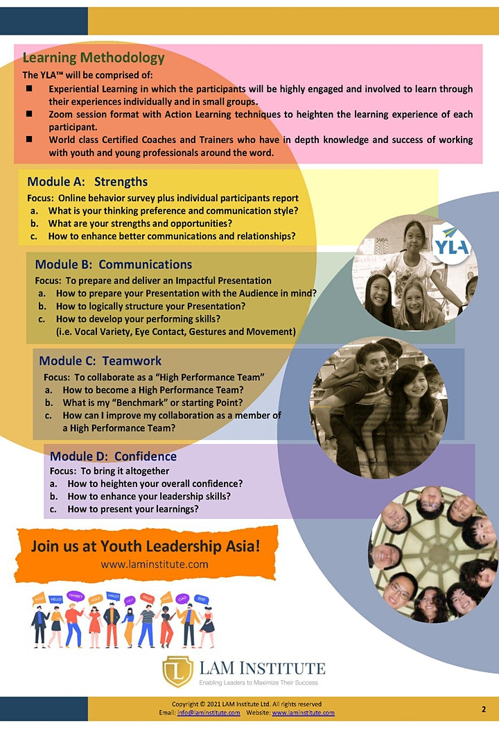 Youth Leadership Asia Summer 2021 image