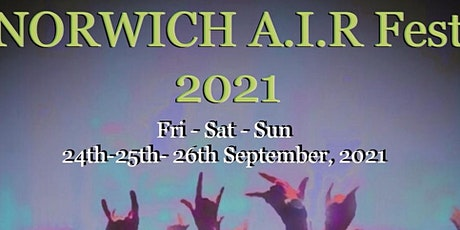 The Norwich A.I.R FEST 2021 tickets