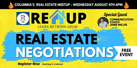 The REUP - Real Estate Meetup - Learn, Networking, and Grow! tickets