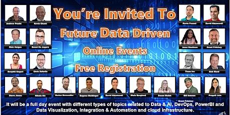 Future Data Driven Summit Event tickets