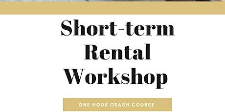 Short Term Rental Workshop tickets
