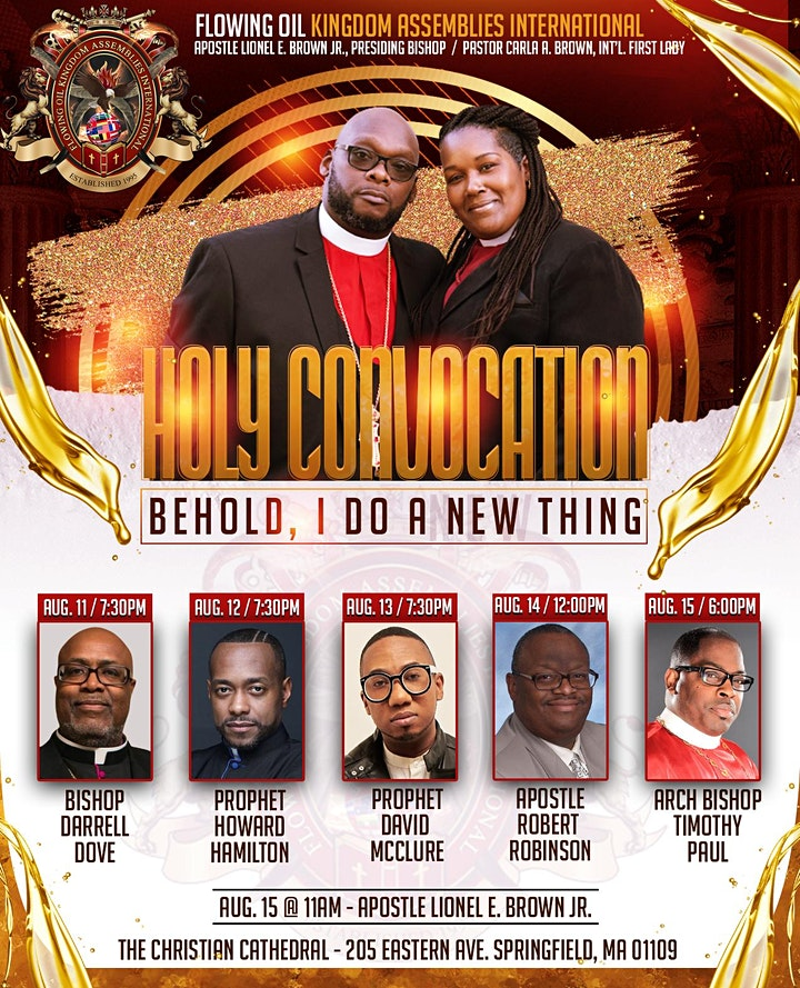 2021 Holy Convocation (Behold, I do a New Thing) image