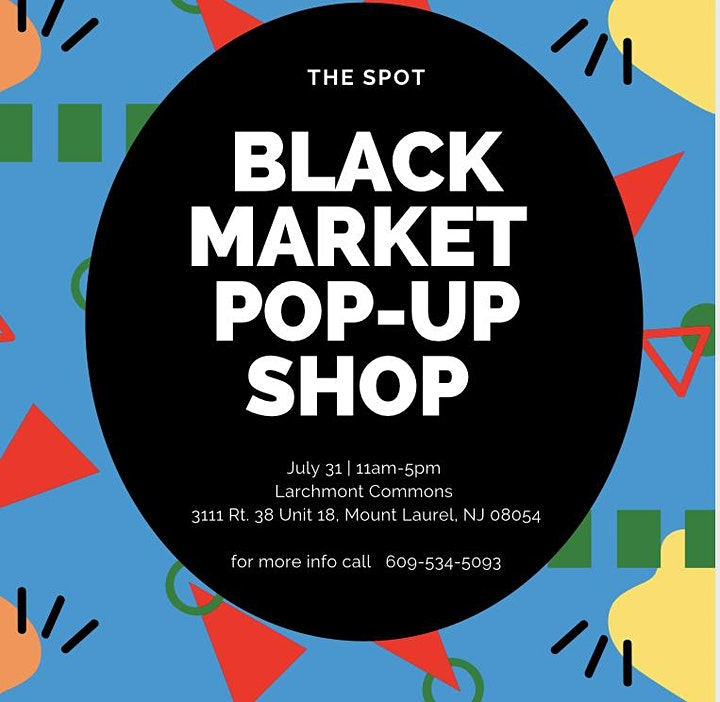 Vendors Wanted for the Black Market Pop-Up Shop image