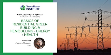 Basics of Residential Green Building and Remodeling - Session 2 tickets