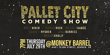 Pallet City Comedy Show tickets