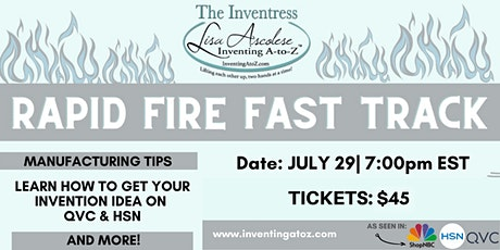 Fast Track Your Next Invention tickets