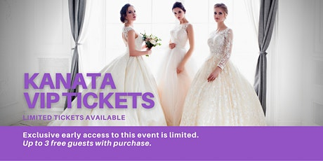 Kanata Pop Up Wedding Dress Sale VIP Early Access tickets