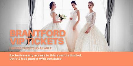 Brantford Pop Up Wedding Dress Sale VIP Early Access tickets