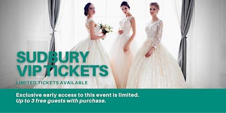 Sudbury Pop Up Wedding Dress Sale VIP Early Access tickets