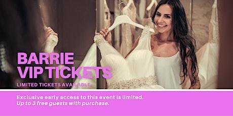 Barrie Pop Up Wedding Dress Sale VIP Early Access tickets