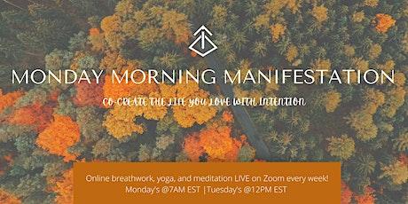 Manifest - Online Yoga Series tickets