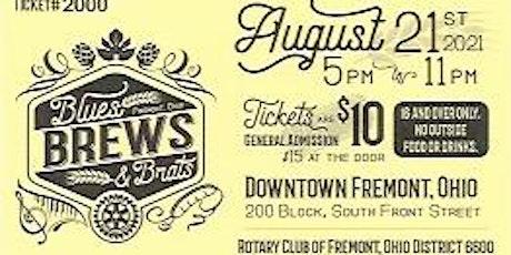 Fremont Rotary Blues Brews & Brats 2021 tickets