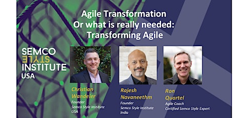 Transforming Agile with Semco Style - Summer Series tickets