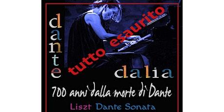 Dalia Lazar - 700 anni dalla morte di Dante biglietti