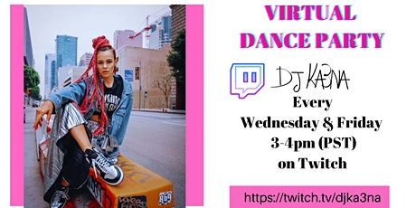 Virtual Dance Party on TWITCH! Tickets