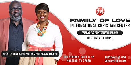 Midweek Service @ Family of Love International Christian Center tickets